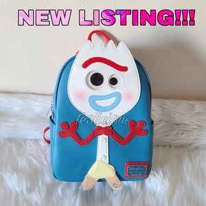 DISNEY PARKS LOUNGEFLY FORKY MINI BACKPACK